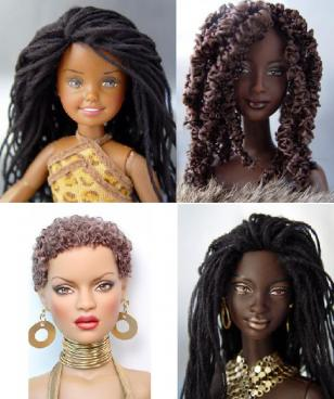 Little Natural Girls, Confidence And The Dolls They Love!